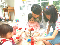 福岡県福岡市西区 私立認可保育園内での保育士のお仕事です。